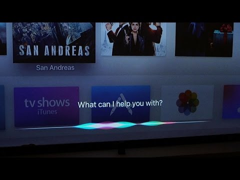 Siri and Universal Search on the New Apple TV