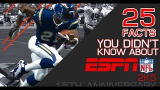 NFL 2K5: 25 Facts You Didn't Know [15th Anniversary]