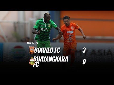 [Pekan 28] Cuplikan Pertandingan Borneo FC vs Bhayangkara FC, 29 Oktober 2018