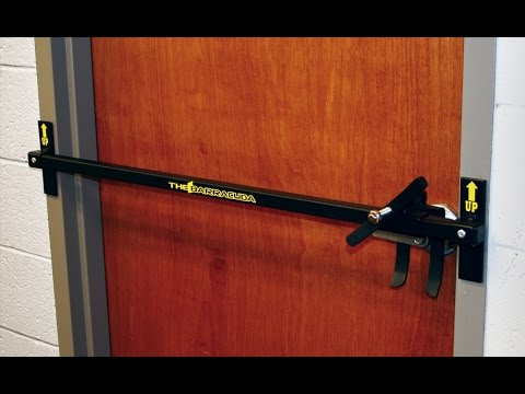 Barracuda Intruder Defense System|Door security device that can be deployed in a matter of seconds
