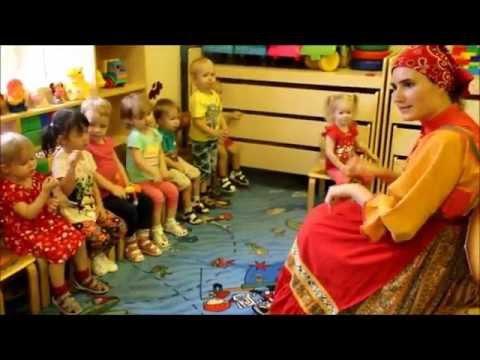 """Частный детский сад""""В гостях у Солнышка"""" На занятии)"""