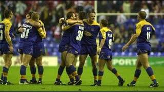 Wigan Warriors 26 Leeds Rhinos 32 20th September 2002