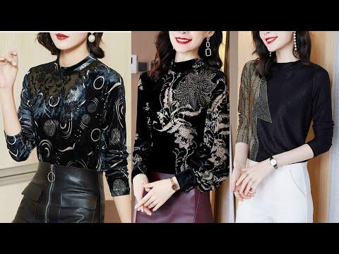 Áo kiểu nữ cao cấp sang trọng mới nhất hiện nay - Top kiểu áo thời trang cao cấp