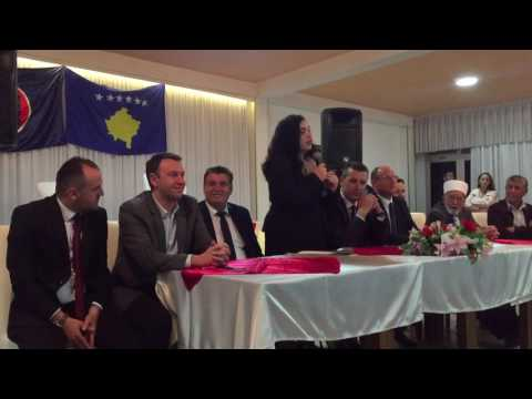 Dr. Vjosa Osmani-81, pritja ne Mitrovicë, Nëndega Zhabarë