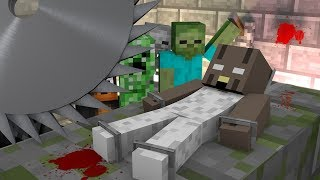 Monster School: KILL EVIL GRANNY CHALLENGE - Minecraft Animation