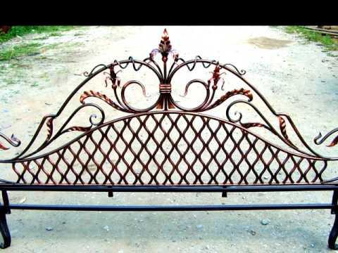 Дизайн кованой кровати быльца ковка из металла изготовление кроватей в Днепропетровске