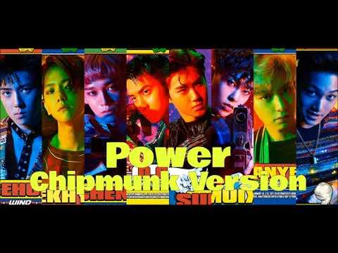 EXO - Power [Chipmunk Version]