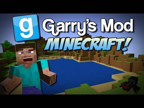 Garry's Mod | MINECRAFT MOD! (Peaceful Mobs, Scary Mobs & More!) | Gmod