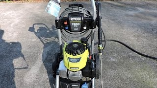 Ryobi 2800 PSI Gas Pressure Washer With Honda Engine