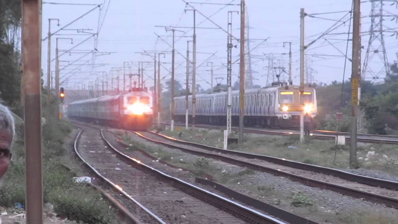 WHITE STALLION POWERS 12689 NAGERCOIL WEEKLY SF EXPRESS RIPS THROUGH  KORATTUR