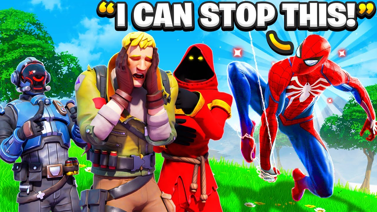 """FAN Gets Made Fun Of By His """"Friends"""", So I Did This... (Fortnite)"""