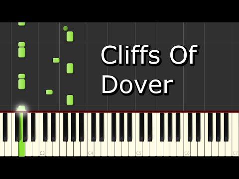 [Eric Johnson - Cliffs Of Dover] Piano Tutorial