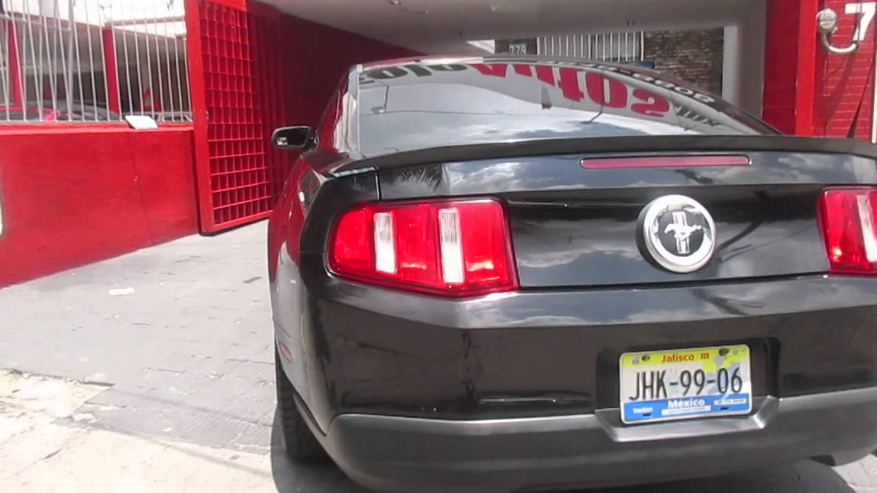ford mustang 2010 4 0l coupe lujo v6 at tela youtube. Black Bedroom Furniture Sets. Home Design Ideas
