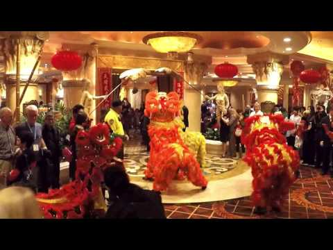 01/28/17 ~ Las Vegas Chinese Lunar New Year - Lion Dance Performance at Caesars Palace