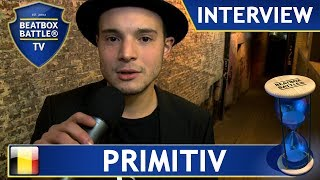 Primitiv from Belgium - Interview - Beatbox Battle TV