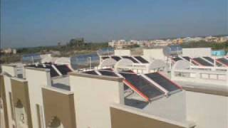 Solar Water heating application for Large Trust - Shri Somnath Prabhas Trust, Veraval, Gujarat