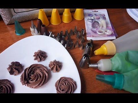 مطبخ أم أسيل: طريقة تشكيل ورود بالكريمة مع نصائح مهمة بخصوص انواع البوش و رؤوس التزيين thumbnail
