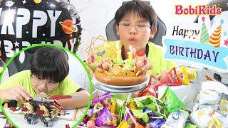HAPPY BIRTHDAY BOMINH | Lần đầu làm bánh sinh nhật và cái kết thế đó | Zoids