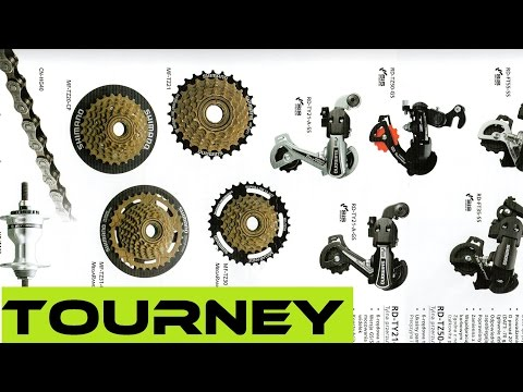 Part 1  Shimano MTB Groupset Overview - Tourney TX  Buyers