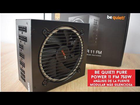 Be Quiet! Pure Power 11 FM 750W. Análisis de la fuente más silenciosa   Gameit ES