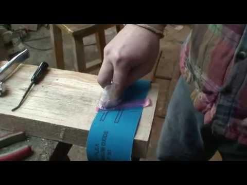 Наждачная лента для шлифмашины своими руками