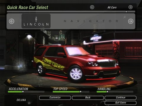 Need For Speed Underground 2 - Lincoln Navigator