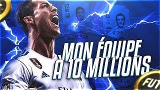 FIFA 18 / ON TEST MA TEAM À 10 MILLIONS AVEC CR7 GULLIT VIEIRA  - ICONES !!