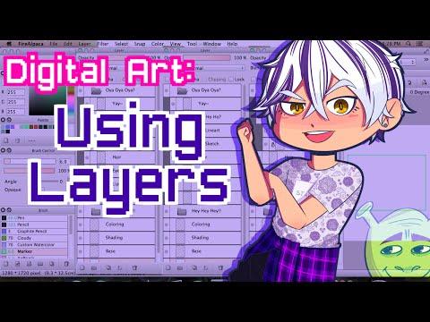 Digital Art- Using Layers
