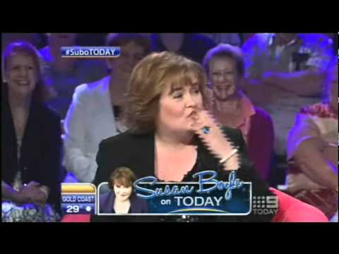 Susan Boyle ~ Aussie Today Show Interview & sings 3 songs ~ (10 Nov 11)