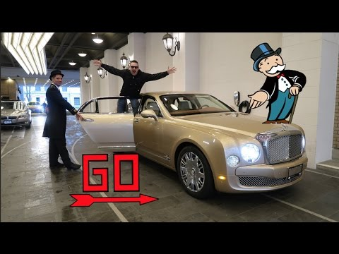 They Gave Me A Bentley Mulsanne And A Driver! Baller!!!