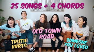 Download SINGING 25 SONGS OVER 4 CHORDS. Mp3 and Videos