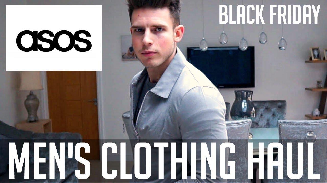 Huge asos men 39 s clothing haul black friday 2017 youtube for Mens dress shirts black friday
