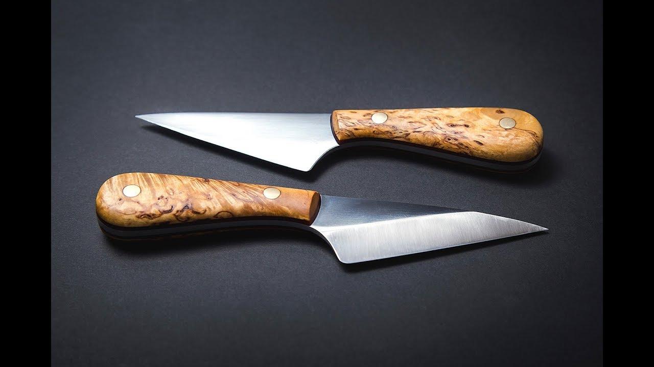 Making a kiridashi Japanese style knife using hobbyist tools