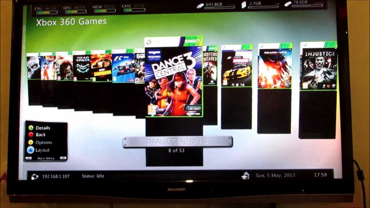Xbox 360 Jogos No HD Externo YouTube