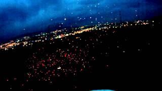 Fpv night flight and Sky lanterns / небесные фонарики