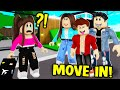I got ADOPTED by my EX-BOYFRIENDS FAMILY in BROOKHAVEN! (Roblox Brookhaven RP!)