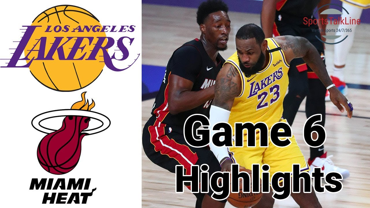 Download Lakers vs Heat HIGHLIGHTS Full Game | NBA Finals Game 6