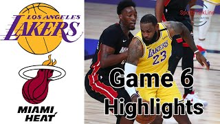 Lakers vs Heat HIGHLIGHTS Full Game | NBA Finals Game 6