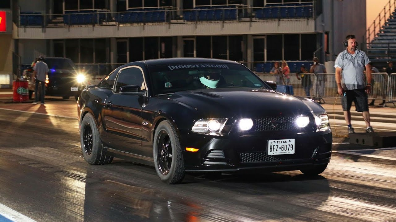 Improving the launch drag racing 2013 mustang gt
