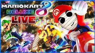 Rasante Rennen mit der Community! 🔴 Mario Kart 8 Deluxe // Livestream