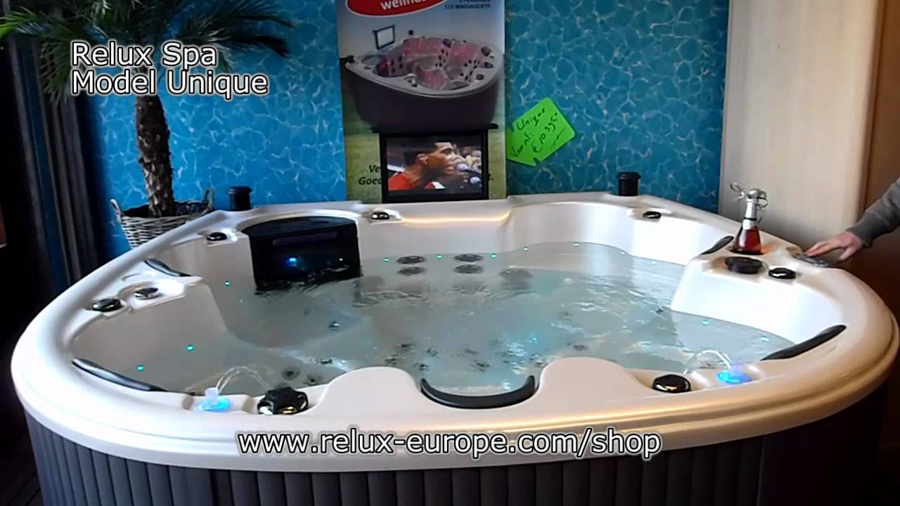 Tv speakers relux spa model unique jacuzzi whirlpool hot tub massage youtube - Destockage spa jacuzzi ...