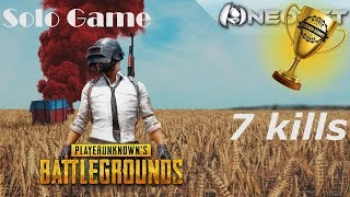 PUBG on Xbox | Oct 6, 2018 | Solo Game: 7 Kills ***WINNER WINNER***