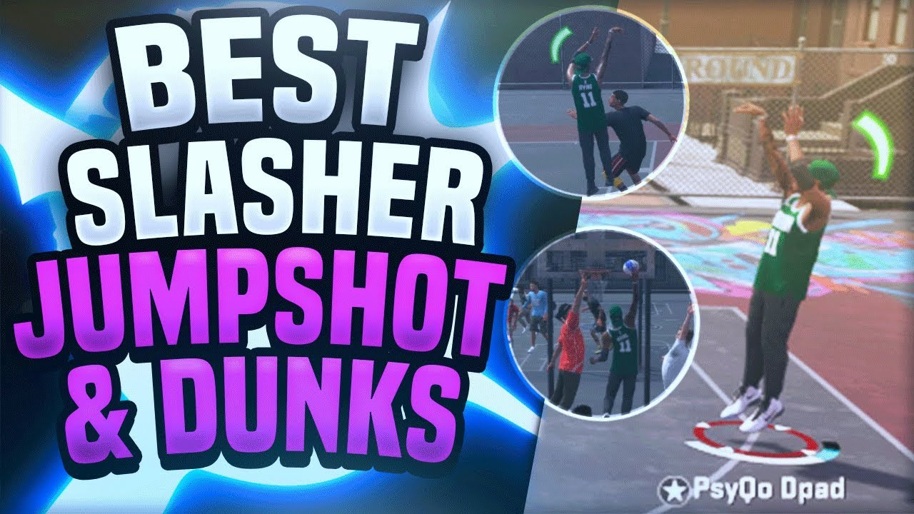 BEST SLASHING PLAYMAKER BUILD?! BEST CUSTOM JUMPSHOT & DUNKS - NBA 2K18  Playground