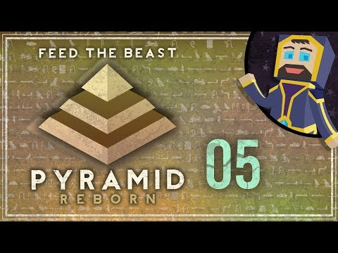 FTB Pyramid Reborn Ep. 05 - Industrial Whingeing and Tree Farming