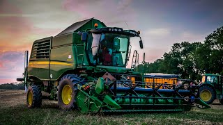 Żniwa z John Deere W540i // Harvest //