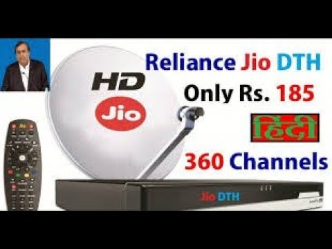 JIO DTH LUNCHED DATE COMING ALL 180 CHANNELS (जल्दि लॉन्च होने वाला है JIO  का DTH) IN HINDI 📺📡