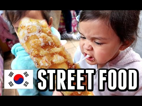 WE TRY KOREAN STREET FOOD IN TOKYO! -  ItsJudysLife Vlogs