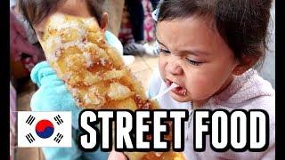 WE TRY KOREAN STREET FOOD IN TOKYO! -  ItsJudysLife Vlogs