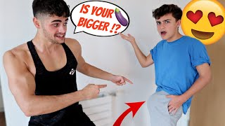 STUFFING MY UNDERWEAR To See If My Boyfriend Notices! (Gay Couple Pranks)
