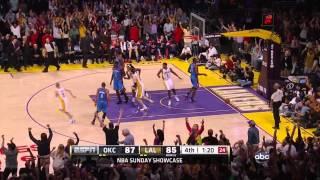 LA Lakers Vs Thunder April 22nd 2012 (Lakers Highlights)